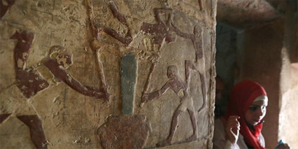 Luego de 8 años se reabren las tumbas del sacerdote de Keops y de su hijo | ArqueoNet | Scoop.it