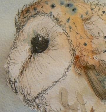 Artwork: Portly Owl - Open House Art | Art - Crafts - Design | Scoop.it