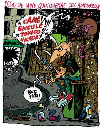 Décès de Pierre Ouin, héraut de la BD punk | BoDoï, explorateur de bandes dessinées - Infos BD, comics, mangas | À toute berzingue… | Scoop.it