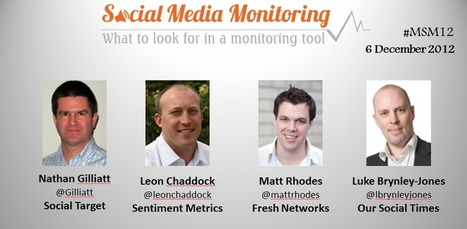Choosing a social media monitoring tool | Social Media Monitoring & Metrics | Scoop.it