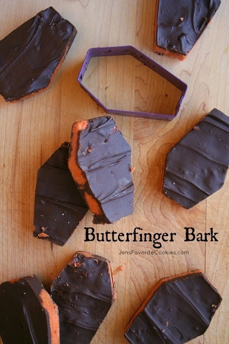 Butterfinger Bark and Halloween Food Party   Halloween Treats #HolidayFoodParty   Scoop.it