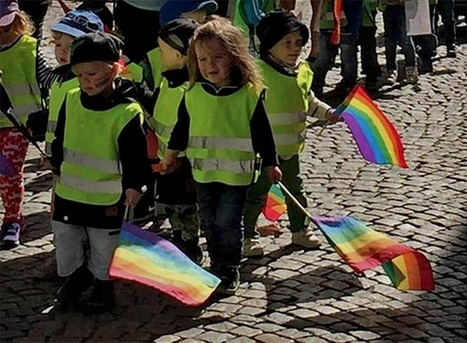 Fort Russ: Swedish daycare forces toddlers to take part in a gay parade   Global politics   Scoop.it
