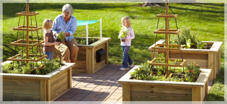 Four square gardens you can build   Outside Ideas   Scoop.it