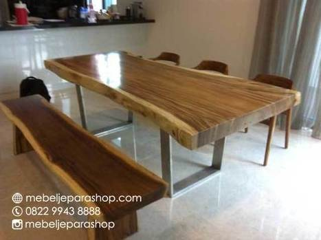 Furniture Meja Solid Trembesi | MEBEL JEPARA SHOP | Mebeljeparashop | Scoop.it