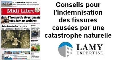 Interview Midi Libre : conseils du directeur de LAMY Expertise aux propriétaires sinistrés à cause de la sécheresse | Expertise bâtiment | Scoop.it