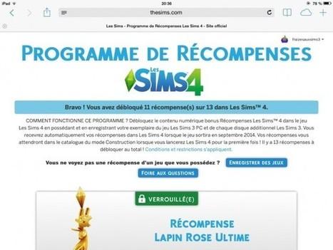 Des plumbobs en récompense dans les sims 4 << Les sims 4 – Plumbob | jjArcenCiel | Scoop.it