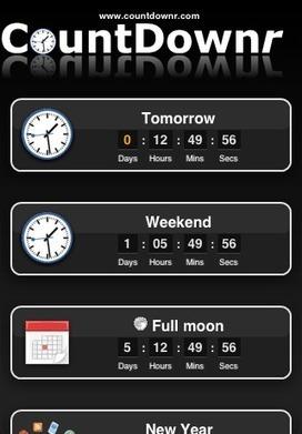 CountDownr - Your CountDown Collection | Tic, Tac... y un poquito más | Scoop.it