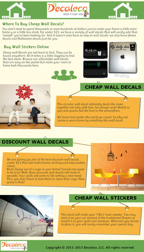 Cheap Wall Stickers | Cheap Wall Stickers | Scoop.it