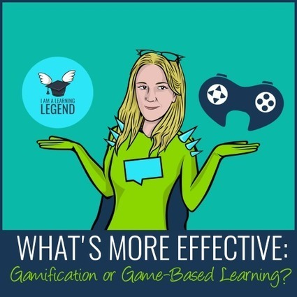 What's More Effective: Gamification or Game-based Learning? | Learning & Training - www.click4it.org | Scoop.it