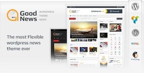 Goodnews v5.0.3 Responsive WordPress News/Magazine Free Download | Free Themes Premium | Scoop.it