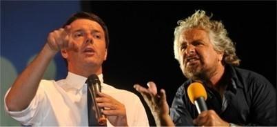 L'incontro-scontro in diretta streaming tra Renzi e Grillo Informazione | InformAzione | Scoop.it
