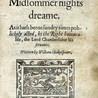 Allison's A Midsummer Night's Dream