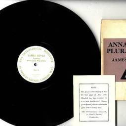 Rare recording to have Joyceans swooning at literary auction | The Irish Literary Times | Scoop.it