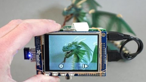 Build a Raspberry Pi Powered Touchscreen Point-and-Shoot Camera | Raspberry Pi | Scoop.it