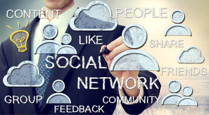 5 Biggest Differences between Social Media and Social Networking | Aspiring Outliers | Scoop.it