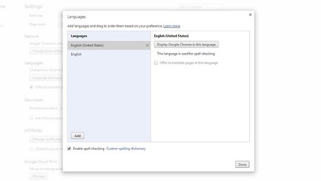 Install More Dictionaries to Chrome for Multi-Language Spell Checking   Moodle and Web 2.0   Scoop.it