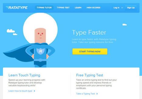 Learn to Type Faster with Ratatype Typing Tutor | Zentrum für multimediales Lehren und Lernen (LLZ) | Scoop.it