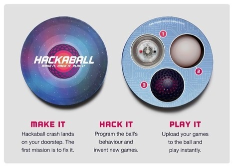 Hackaball The Programmable Throwable Computer Ball (video) | Gadgets and education | Scoop.it