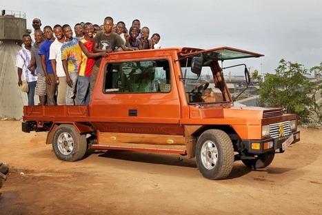 On est monté dans la Turtle, la voiture africaine 100% recyclée | Shabba's news | Scoop.it