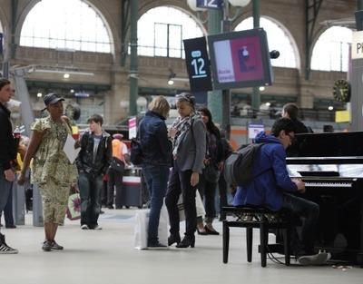 ART EN GARE : LA CREATIVITE EN PARTAGE - Chaire Gare | Ambiances, Architectures, Urbanités | Scoop.it