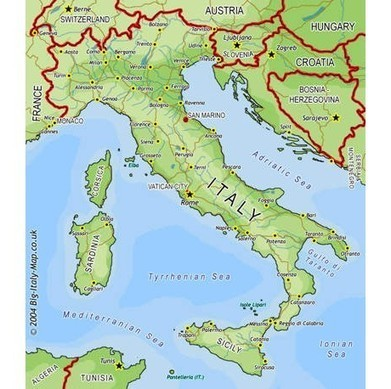 Profile of italy, information about italy, italy facts, italy information, all about italy, italian profile, map of italy, italy map, italians | Italy | Scoop.it