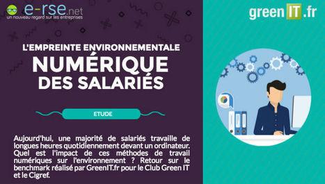[INFOGRAPHIE] L'empreinte environnementale numérique d'un salarié - Web Développement Durable   [avniR] : Pensée Cycle de Vie - ACV - éco-conception - affichage environnemental   Scoop.it