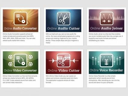 6 outils en ligne pour l'édition audio et vidéo | Autour du Web | DIGITAL NEWS & co | Scoop.it