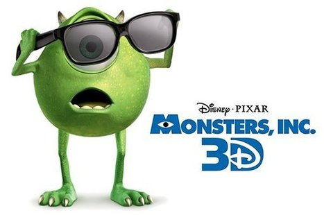 Video Writing Prompt: Monsters, Inc. 3D Trailer | Mr. Huebner's Edtech Ideas | Scoop.it