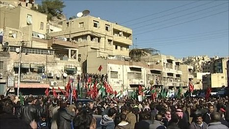 BBC News - Newsnight - Tunisia political turmoil inspires Jordan protesters | Coveting Freedom | Scoop.it