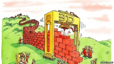 """3D printing: A new brick in the Great Wall; Additive manufacturing is growing apace in China vs """"subtractive"""" technology of lathes, milling machines and cutting tools   3-D Printing Stories   Scoop.it"""
