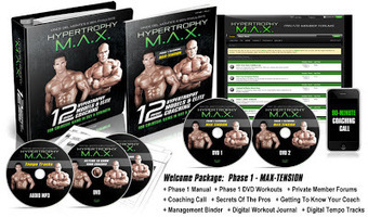 The Most Complex Muscle Building Program -- Hypertrophy MAX Review | Useful Fitness Articles | Scoop.it