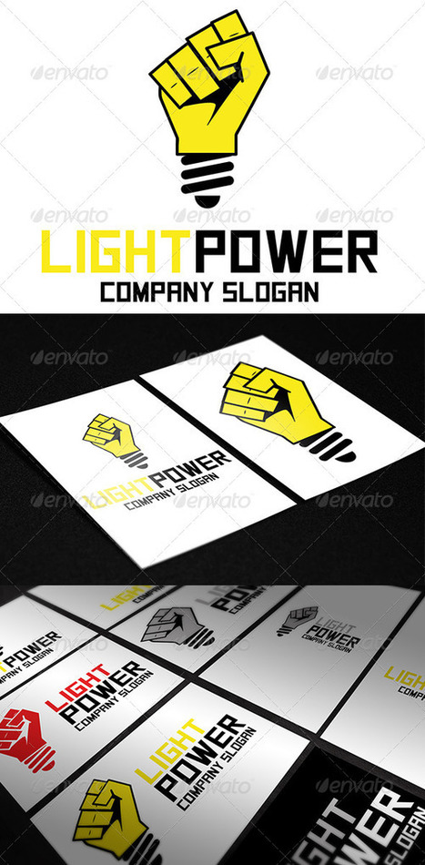 Light Power Logo (Objects) | GFX Database | Graphics Share | Scoop.it