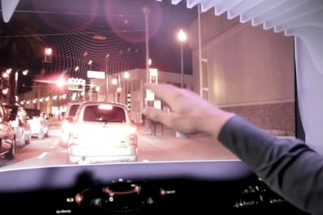 AR Navigation System Offers Pop-Up Directions In Real-Time - PSFK | AR | Scoop.it