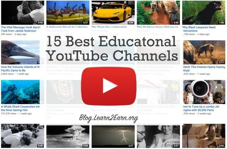 15 Best Educational YouTube Channels for the Classroom | Education_XXI | Scoop.it