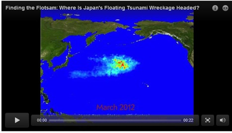 Finding the flotsam: where is Japan's floating tsunami wreckage headed? | Developing Spatial Literacy | Scoop.it