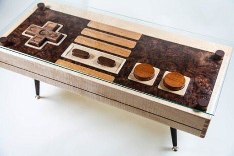 Nintendo Controller Coffee Table | Mens Entertainment Guide | Scoop.it
