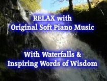 """Relaxing Piano Music with Waterfalls & Words of Wisdom – """"Nature's Spirit of Creativity"""" Video   Kick your Creativity into Gear   Scoop.it"""