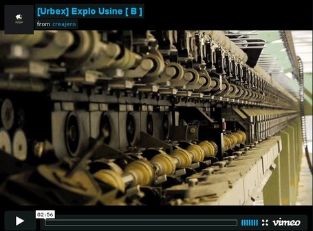 Explo Usine B par SMUTOR | | Rouen | Scoop.it