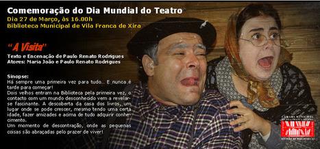 """A Visita"" - Biblioteca Mun. de Vila Franca de Xira, 27 de Março | Arte de cor | Scoop.it"