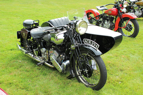 1936 Brough Superior SS80 Combination / Watsonian side car - Flickr | Vintage Antique Motorcycles | Scoop.it