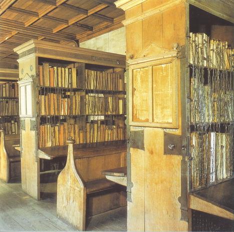 Biblioteca medieval de la catedral de Hereford. | Ciencia y Filosofía Medieval | Scoop.it