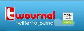 Convert Your Twitter Tweets Into A Published Book With Twournal | Educatief Internet | Scoop.it