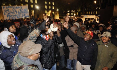 Congo protest leads to over 100 arrests after trouble in London | Coveting Freedom | Scoop.it