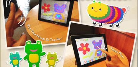 ColorBand para iPad hace que los niños mezclen música y pintura con gestos   Música per a nens   Scoop.it