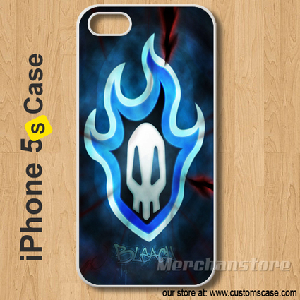 Bleach Logo japanese anime Custom iPhone 5s Case Cover | Merchanstore - Accessories on ArtFire | Custom iPhone 5s Case Cover | Scoop.it