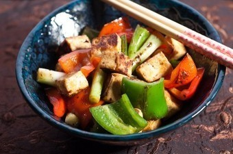 Super Spicy Tofu And Peppers | Food glorious food | Scoop.it