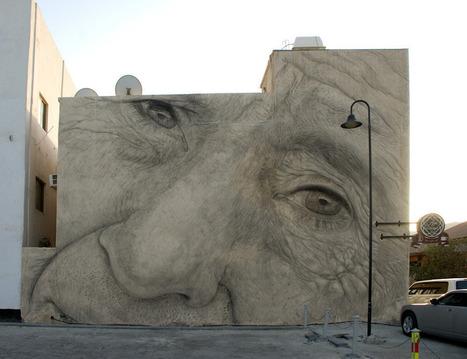Jorge Rodriguez-Gerada, Bahrain - unurth | street art | Street Art and Artists | Scoop.it
