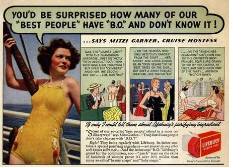 "1936-You'd Be Surprised How Many Of Our ""Best People"" Have ""B.O."" And Don't Know It! 