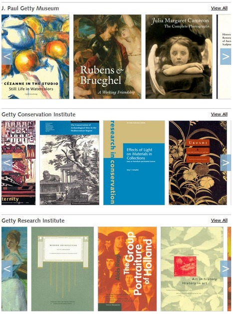 Getty Publications Virtual Library : Free digital backlist titles from the Getty Publications Archives | Time to Learn | Scoop.it