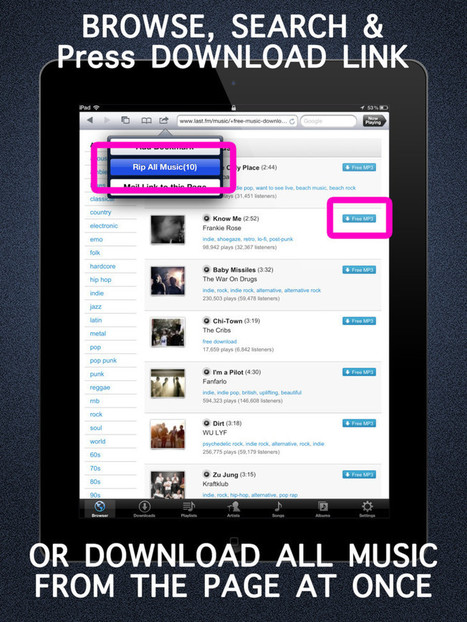 """Free Music Download""app detail - iPhone App Ranking - iPhone App Box - 